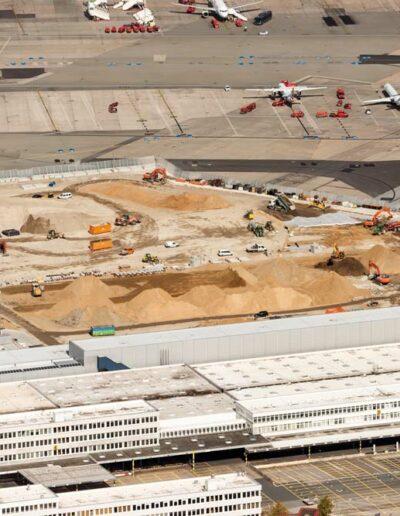 HIB Infra, Spezialbau am Flughafen. 4. Abschnitt