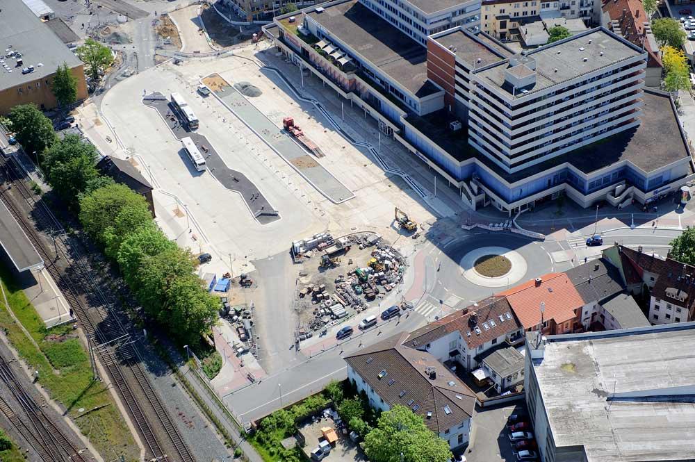 Betonstraßenbau in Hildesheim